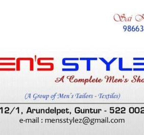 Mens Stylez