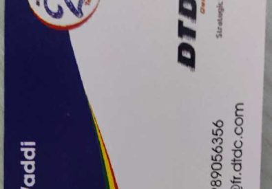 DTDC Courier and Car...