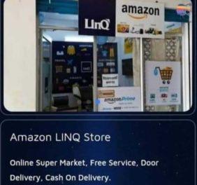 Amazon LINQ Store