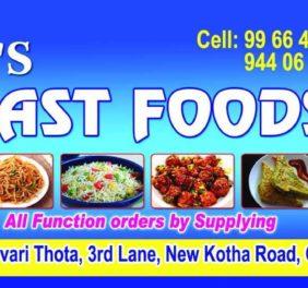 VJ's Fast Foods