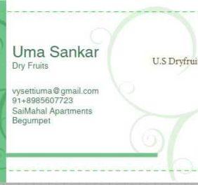 U.S Dry Fruits