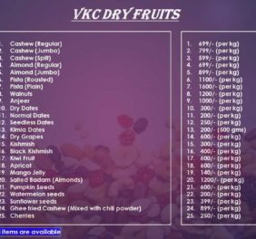 VKC Dry Fruits
