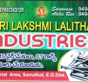 Sri lakshmi LALITHA ...