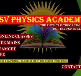 S V PHYSICS ACADEMY