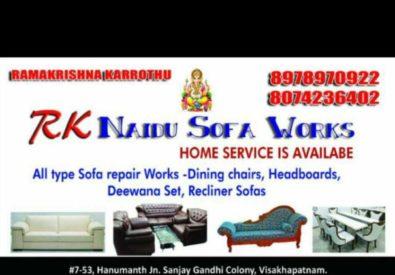 RK Naidu Sofa Works