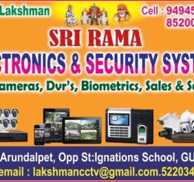 Sri Rama Electronics...