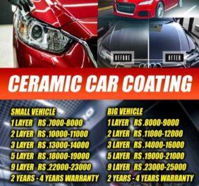 Car ceramic services