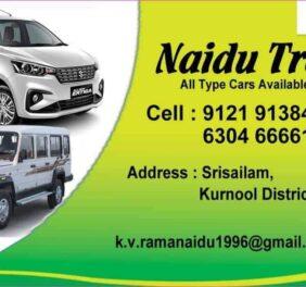 Naidu travel's...